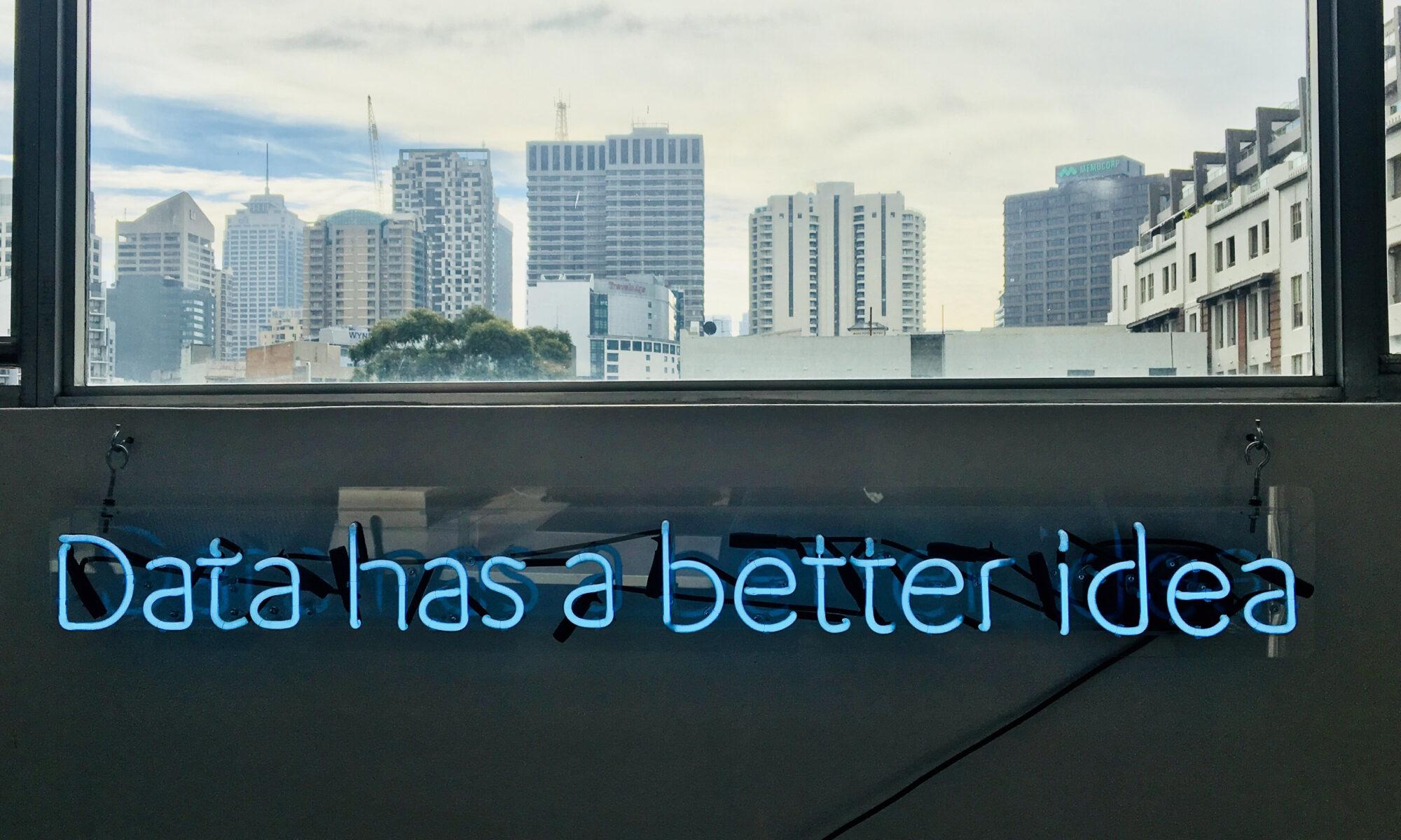 data better idea