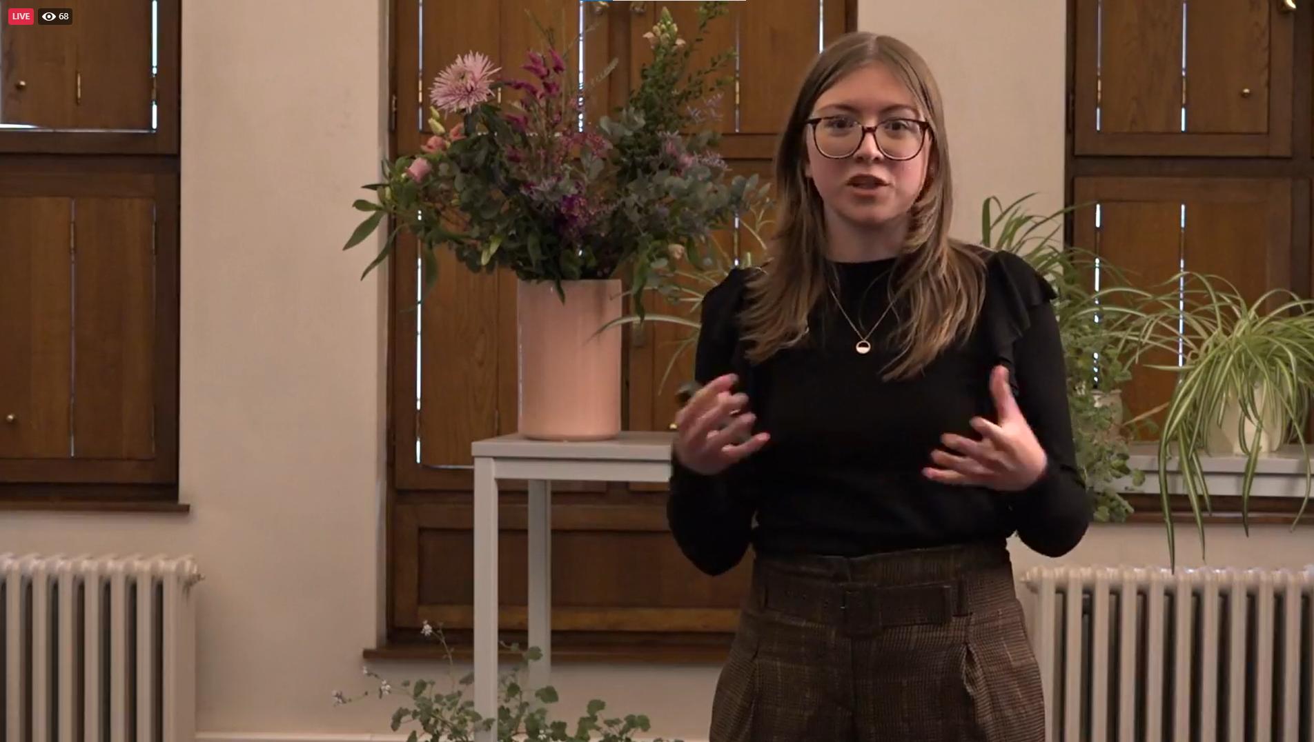 Hanne Lamberts presentatiewedstrijd