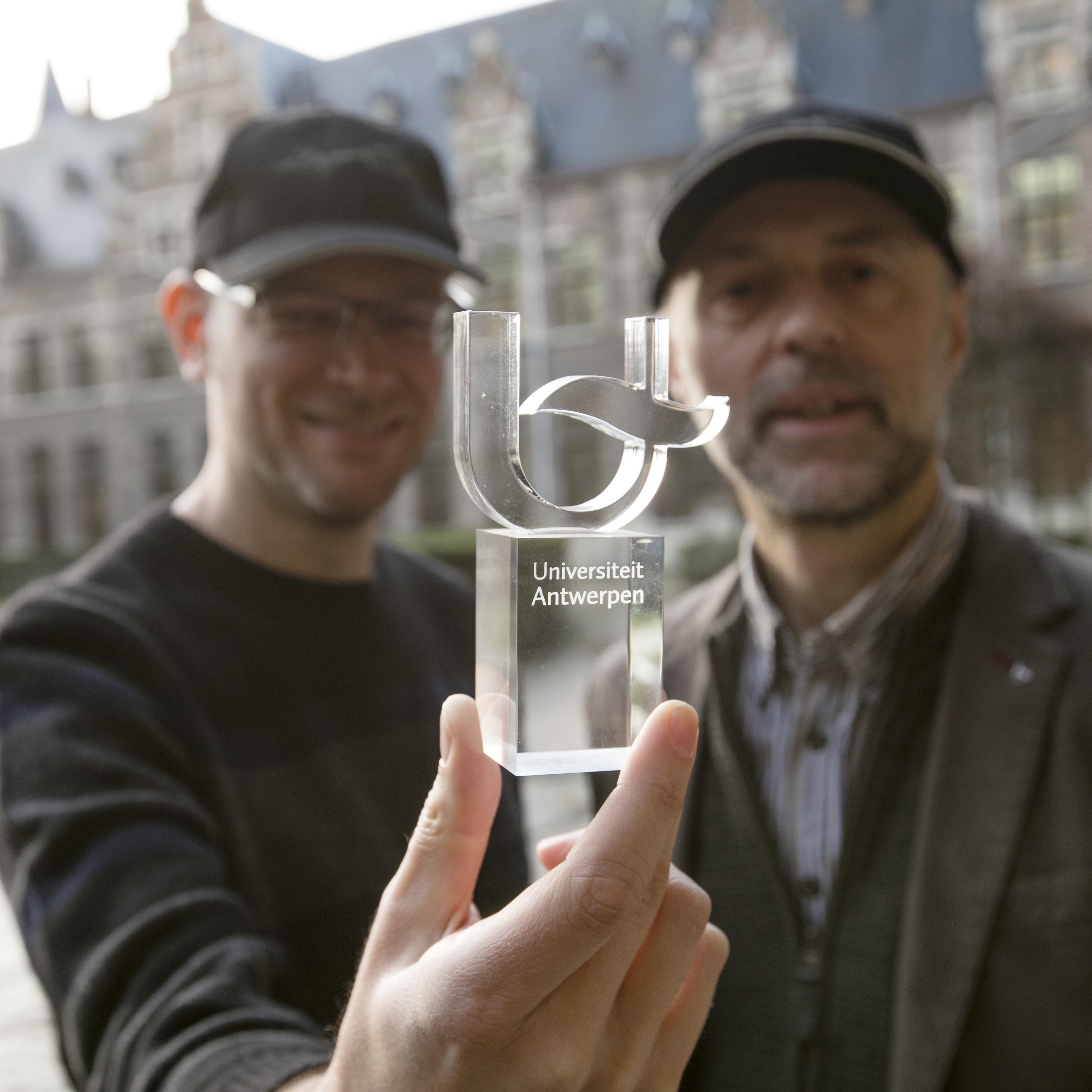 Daniël Ermens en Marc Demolder Het Collectief Geheugen van de Universiteit Antwerpen