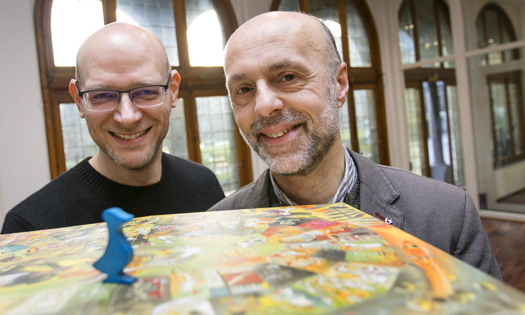 Marc Demolder en Daniël Ermens hebben de actie Het Collectief Geheugen van de Universiteit Antwerpen opgestart.