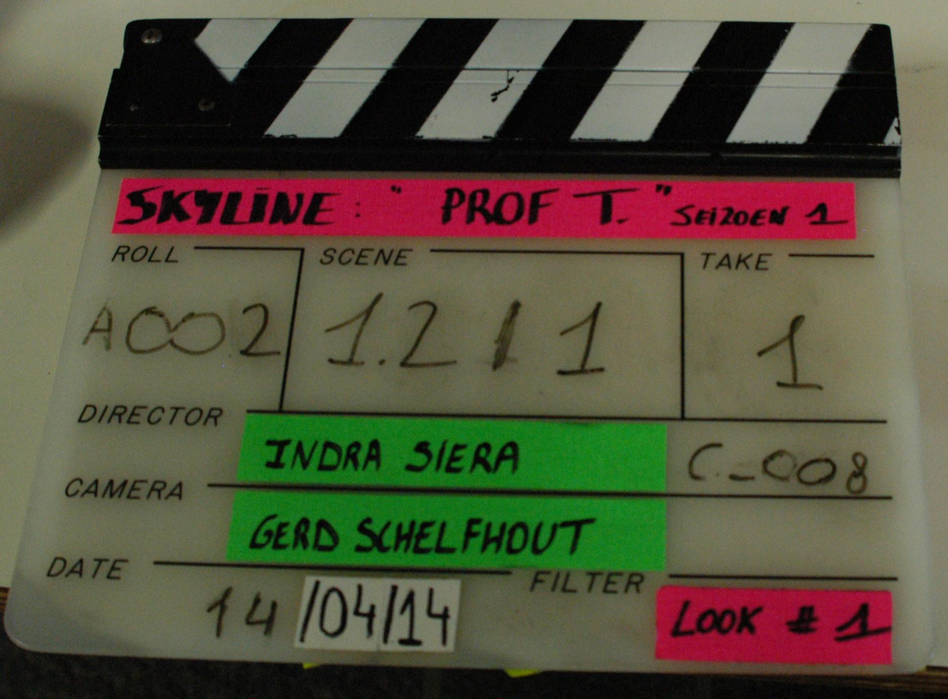 Filmopnames aan de UAntwerpen